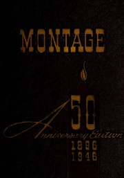 University of Montevallo - Montage Technala Yearbook (Montevallo, AL) online yearbook collection, 1946 Edition, Cover