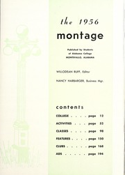 Page 13, 1956 Edition, University of Montevallo - Montage Technala Yearbook (Montevallo, AL) online yearbook collection