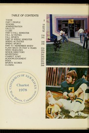 Page 6, 1978 Edition, University of New Haven - Chariot Yearbook (West Haven, CT) online yearbook collection