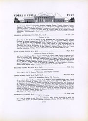 University of Virginia - Corks and Curls Yearbook (Charlottesville, VA) online yearbook collection, 1925 Edition, Page 17
