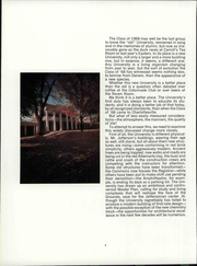 Page 10, 1968 Edition, University of Virginia - Corks and Curls Yearbook (Charlottesville, VA) online yearbook collection
