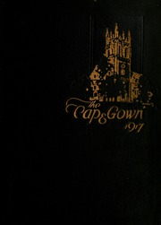 University of the South - Cap and Gown Yearbook (Sewanee, TN) online yearbook collection, 1917 Edition, Cover