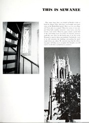Page 11, 1961 Edition, University of the South - Cap and Gown Yearbook (Sewanee, TN) online yearbook collection