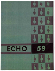 Upland College - Echo Yearbook (Upland, CA) online yearbook collection, 1959 Edition, Cover
