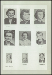 Page 11, 1954 Edition, Urbana Consolidated High School - Echo Yearbook (Urbana, IA) online yearbook collection