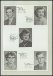 Page 17, 1954 Edition, Urbana Consolidated High School - Echo Yearbook (Urbana, IA) online yearbook collection
