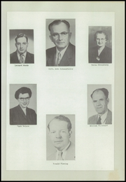Page 9, 1954 Edition, Urbana Consolidated High School - Echo Yearbook (Urbana, IA) online yearbook collection