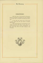 Page 9, 1919 Edition, Urbana High School - Tower Yearbook (Urbana, IL) online yearbook collection