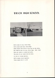 Urich High School - Tigerette Yearbook (Urich, MO) online yearbook collection, 1958 Edition, Page 5