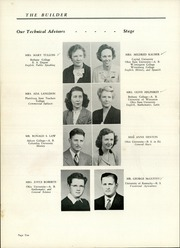 Utica High School - Builder Yearbook (Utica, OH) online yearbook collection, 1946 Edition, Page 14
