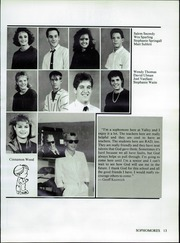 Valley Christian High School - Footprints Yearbook (Tempe, AZ) online yearbook collection, 1987 Edition, Page 17