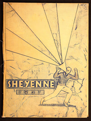Valley City High School - Sheyenne Yearbook (Valley City, ND) online yearbook collection, 1937 Edition, Cover