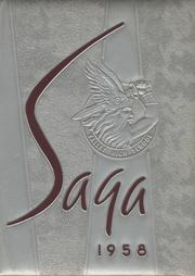 Valley High School - Saga Yearbook (Albuquerque, NM) online yearbook collection, 1958 Edition, Cover
