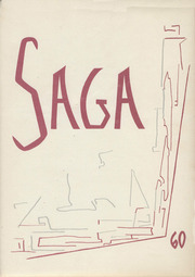 Valley High School - Saga Yearbook (Albuquerque, NM) online yearbook collection, 1960 Edition, Cover