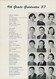 Page 11, 1957 Edition, Van Antwerp Junior High School - Yellow Jacket Yearbook (Schenectady, NY) online yearbook collection