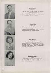Van Buren High School - Knight Yearbook (Van Buren, OH) online yearbook collection, 1948 Edition, Page 16