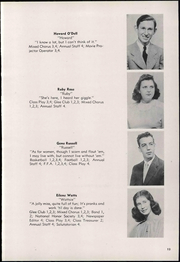 Van Buren High School - Knight Yearbook (Van Buren, OH) online yearbook collection, 1948 Edition, Page 17 of 70