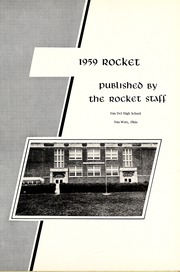 Van Del High School - Rocket Yearbook (Van Wert, OH) online yearbook collection, 1959 Edition, Page 5