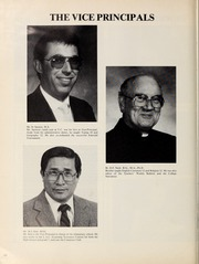 Page 12, 1986 Edition, Vancouver College - Collegian Yearbook (Vancouver, British Columbia Canada) online yearbook collection