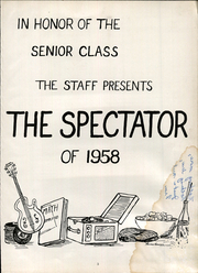Vandergrift High School - Spectator Yearbook (Vandergrift, PA) online yearbook collection, 1958 Edition, Page 5