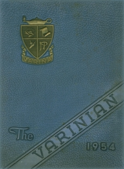 Varina High School - Varinian Yearbook (Richmond, VA) online yearbook collection, 1954 Edition, Cover