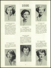 Page 16, 1954 Edition, Varina High School - Varinian Yearbook (Richmond, VA) online yearbook collection