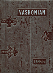 Vashon Island High School - Vashonian Yearbook (Vashon, WA) online yearbook collection, 1955 Edition, Cover
