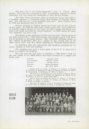 Vassar High School - Echo Yearbook (Vassar, MI) online yearbook collection, 1938 Edition, Page 51