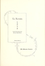 Page 7, 1928 Edition, Ventura High School - Black Gold Yearbook (Ventura, CA) online yearbook collection