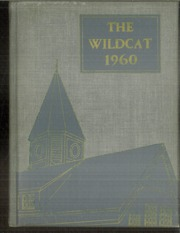 Vermont Academy - Wildcat Yearbook (Saxtons River, VT) online yearbook collection, 1960 Edition, Cover