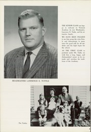 Page 8, 1960 Edition, Vermont Academy - Wildcat Yearbook (Saxtons River, VT) online yearbook collection