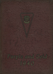 Verona High School - Purple and Gold Yearbook (Verona, PA) online yearbook collection, 1940 Edition, Cover