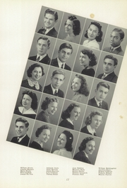 Page 17, 1940 Edition, Verona High School - Purple and Gold Yearbook (Verona, PA) online yearbook collection