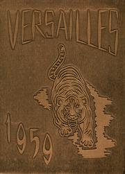 Versailles High School - Yearbook (Versailles, OH) online yearbook collection, 1959 Edition, Cover