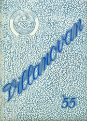 Villanova Preparatory School - Villanovan Yearbook (Ojai, CA) online yearbook collection, 1955 Edition, Cover