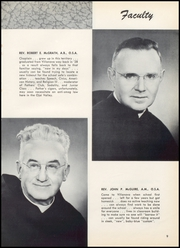 Page 13, 1955 Edition, Villanova Preparatory School - Villanovan Yearbook (Ojai, CA) online yearbook collection