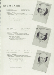 Vincentian High School - Vincentian Yearbook (Pittsburgh, PA) online yearbook collection, 1945 Edition, Page 11