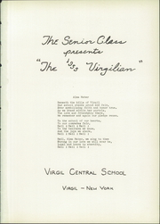 Virgil Central High School - Virgilian Yearbook (Virgil, NY) online yearbook collection, 1955 Edition, Page 5