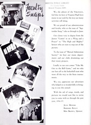 Page 8, 1957 Edition, Virginia High School - Virginian Yearbook (Bristol, VA) online yearbook collection