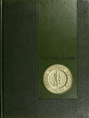 Virginia Military Institute - Bomb Yearbook (Lexington, VA) online yearbook collection, 1966 Edition, Cover