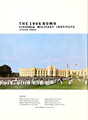 Page 6, 1966 Edition, Virginia Military Institute - Bomb Yearbook (Lexington, VA) online yearbook collection