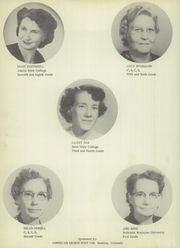 Vona High School - Wildcat Yearbook (Vona, CO) online yearbook collection, 1954 Edition, Page 10