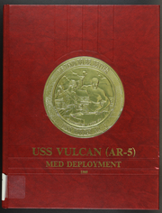 Vulcan (AR 5) - Naval Cruise Book online yearbook collection, 1989 Edition, Cover
