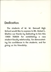 W W Samuell High School - Torch Yearbook (Dallas, TX) online yearbook collection, 1969 Edition, Page 7 of 342