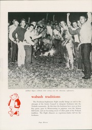 Page 15, 1960 Edition, Wabash College - Wabash Yearbook (Crawfordsville, IN) online yearbook collection