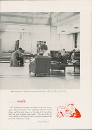 Page 17, 1960 Edition, Wabash College - Wabash Yearbook (Crawfordsville, IN) online yearbook collection