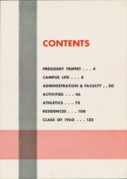 Page 7, 1960 Edition, Wabash College - Wabash Yearbook (Crawfordsville, IN) online yearbook collection