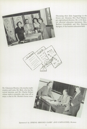Wakarusa High School - Waka Memories Yearbook (Wakarusa, IN) online yearbook collection, 1951 Edition, Page 10