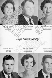 Walstonburg High School - Talisman Yearbook (Walstonburg, NC) online yearbook collection, 1958 Edition, Page 6