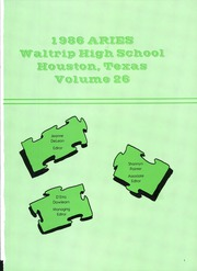 Waltrip High School - Aries Yearbook (Houston, TX) online yearbook collection, 1986 Edition, Page 5